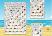 Mahjong avec des chiffres