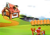 Cadeaux dans les cheminées