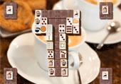Mahjong à l'heure du café