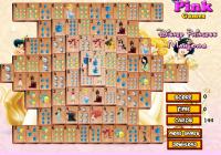 Jeu de mahjong des princesses Disney