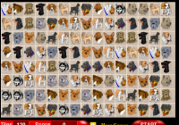Jeu de mahjong des chiens