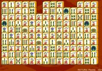 Jeu de mahjong: tuiles connectées