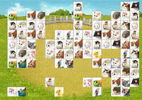 Jeux de Mahjong les animaux de la Ferme
