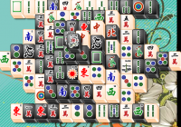 Mahjong Noir et Blanc