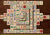 Jeu de mahjong: amour, paix, courage et amitié