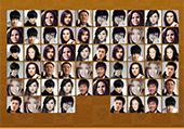 Personnages japonais à relier