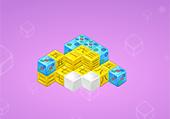 Cubes chinois en 3D