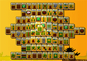 Mahjong aux couleurs chaudes