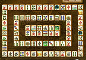 Mahjong connect : la muraille de chine