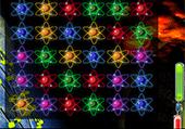 Atomes colorés à relier