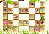 Mahjong les insectes du jardin
