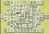 Mahjong en vert