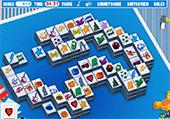 Mahjong avec des jouets
