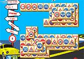 Mahjong des panneaux routiers