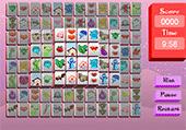 Animaux mangas: mahjong