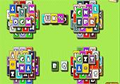 Mahjong des lettres et symboles