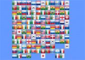 Drapeaux du monde à relier