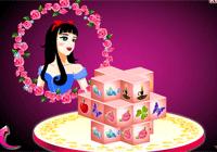 Mahjong en 3D : Blanche Neige