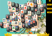 Mahjong : black and white