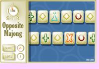 Jeu de mahjong défilant