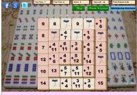Jeu de mahjong de math
