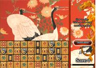 Jeux de mahjong des cigognes
