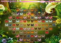Relie les papillons identiques