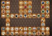 Mahjong objets du passé