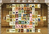 Jouer au mahjong sur le thème de l'égypte et des pharaons