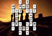 Partie Mahjong sur l'île de Pâques