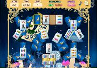 Jeu de mahjong avec l'elfe de la lune