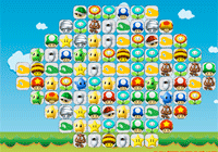 Jeu de mahjong pour enfant: Mario Kart