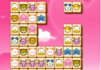 Mahjong avec des animaux mignons
